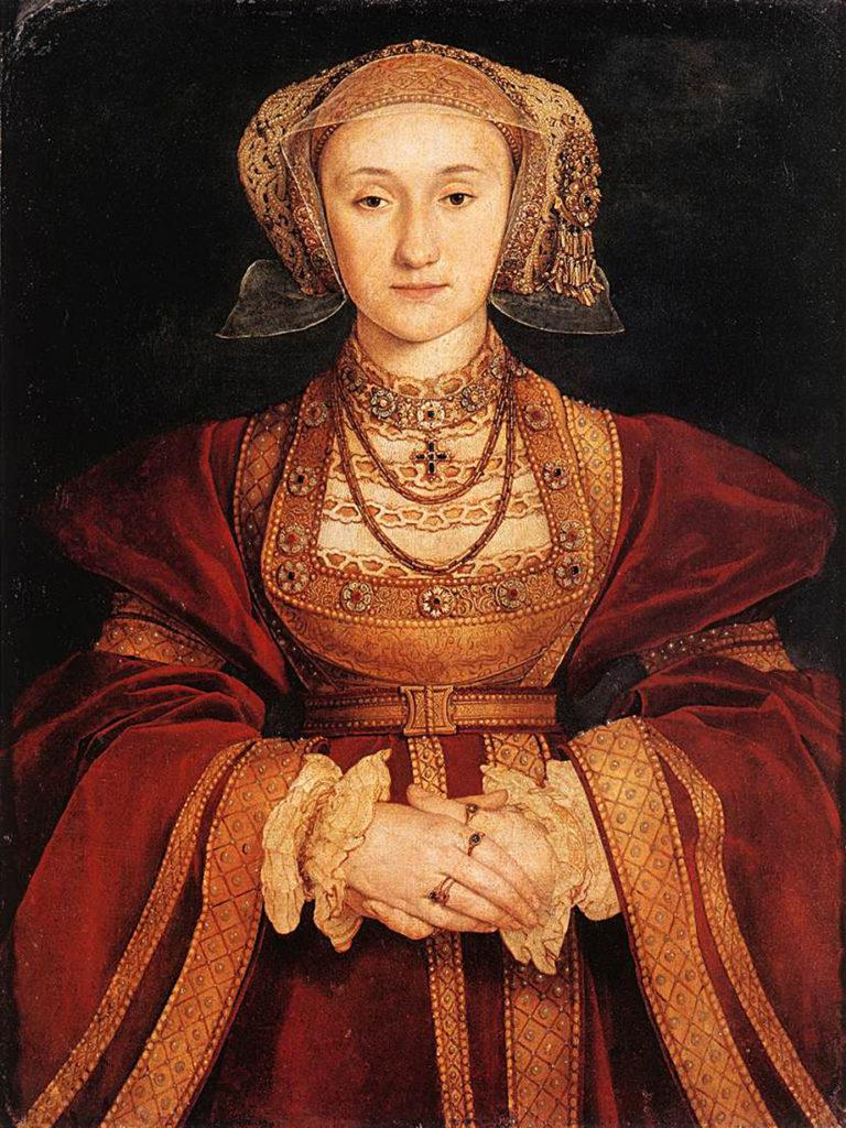 Anna Kliwijska, niefortunna, czwarta żona Henryka. ©Wikimedia Commons