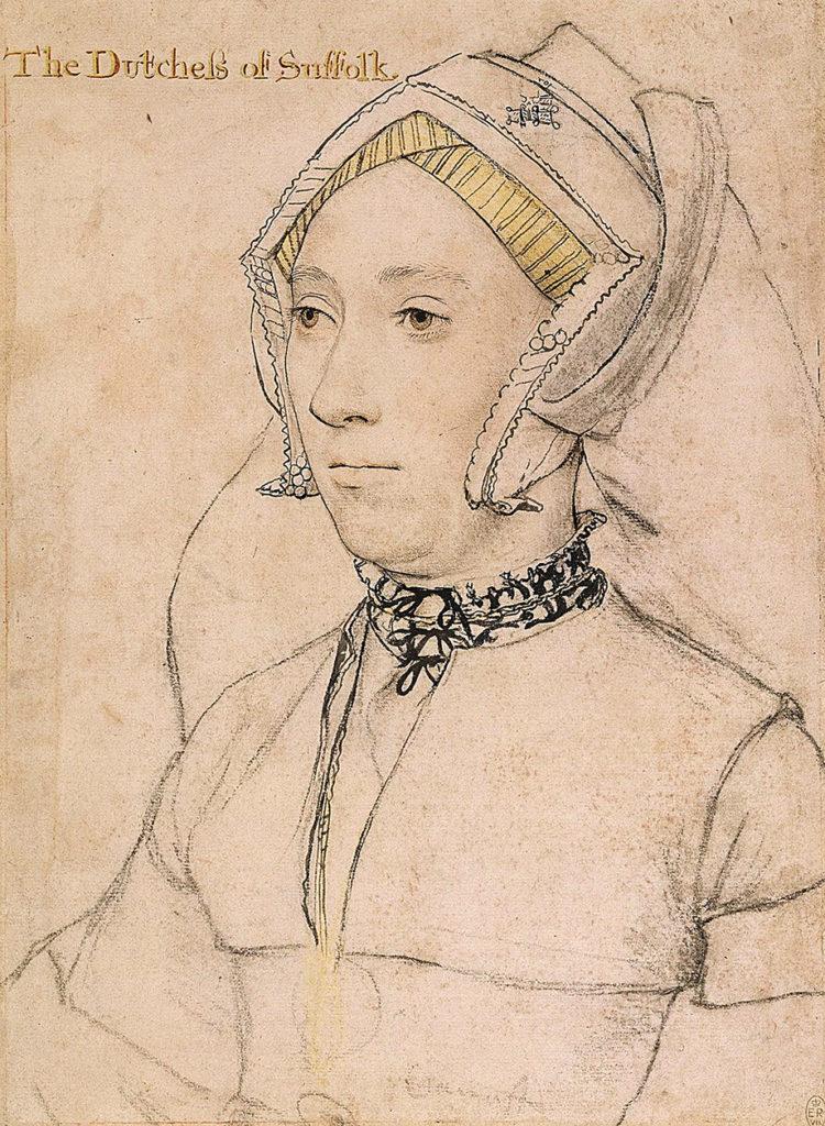1.Katarzyna Willoughby. Czybyła ostatnią miłością Henryka VIII? ©Wikiemdia Commons
