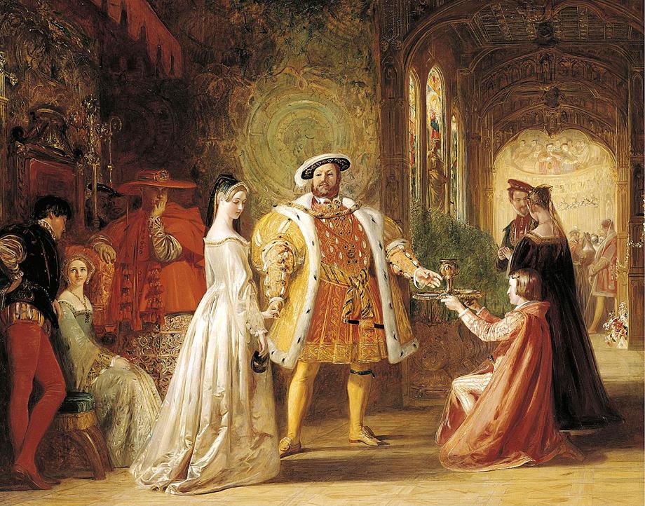 Anna Boleyn, wielka namiętność Henryka VIII iskazana przezeń królowa. ©Wikimedia Commons.