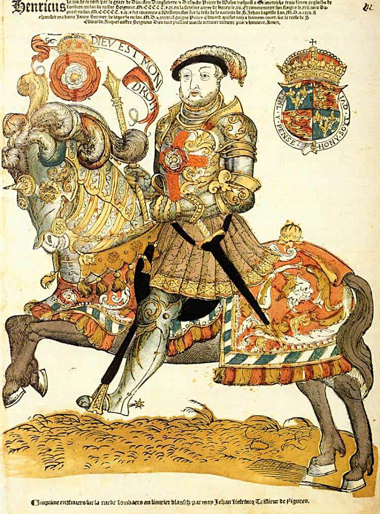 Henryka VIII pasjonowały konne walki nakopie. ©Wikimedia Commons.