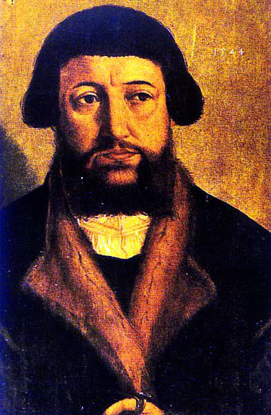 Andreas Osiander, uczony, teolog ireformator. ©Wikimedia Commons.