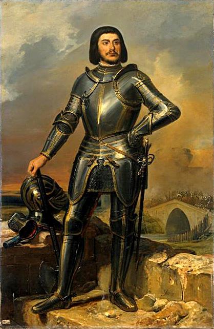 Gilles de Rais naXIX-wiecznym obrazie pędzla Ferona. ©Wikimedia Commons.