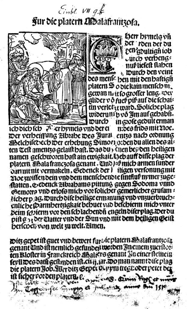 Modlitwa błagalna ouwolnienie odkiły. ©Wikimedia Commons, http://wellcomeimages.org/indexplus/image/L0011148.html