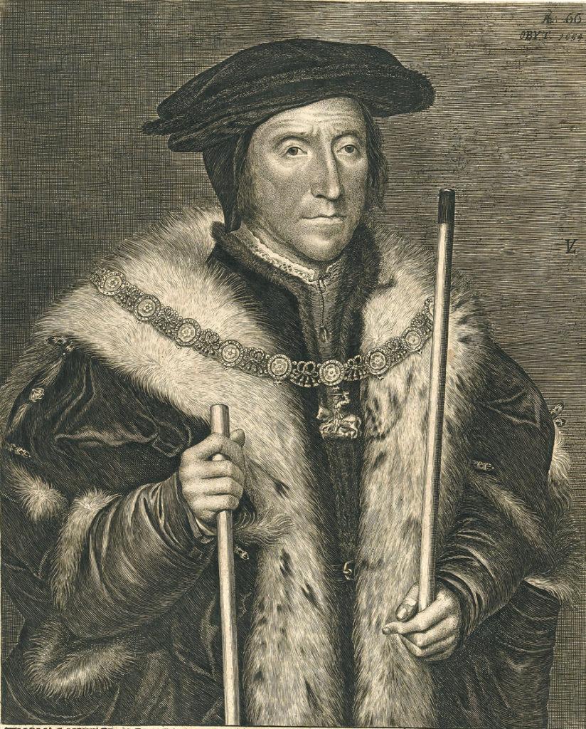 Wuj Anny Tomasz Howard, książę Norfolk, przyczynił się dojej skazania. ©Wikimedia Commons, http://wellcomeimages.org/indexplus/image/L0043933.html.