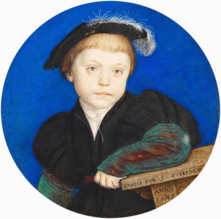 Henry Brandon, jeden zdwóch synów Katarzyny iCharlesa Brandona, zmarłych wwielu nastoletnim naskutek angielskich potów.