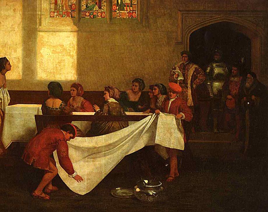 Aresztowanie Anny Boleyn. ©Wikimedia Commons.
