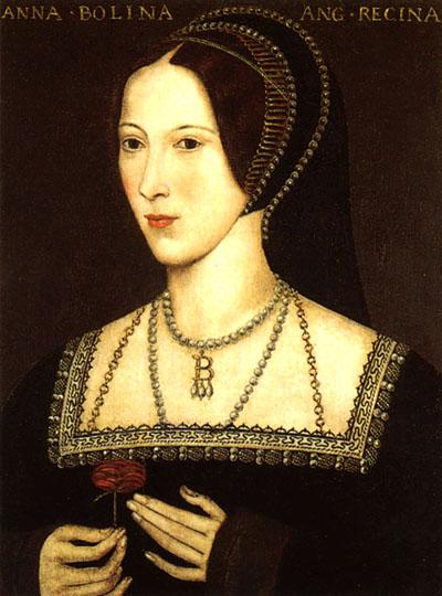 Jeden zportretów przedstawiających Annę Boleyn. ©Wikimedia Commons.