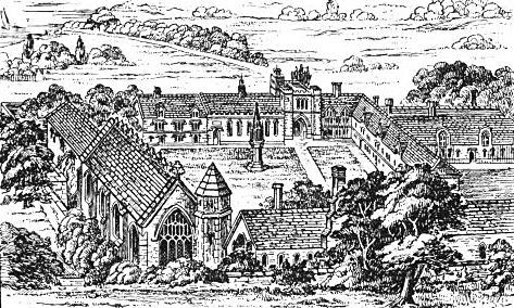 Klasztor Bermondsey, gdzie znalazła schronienie izmarła królowa Katarzyna. ©Wikimedia Commons.