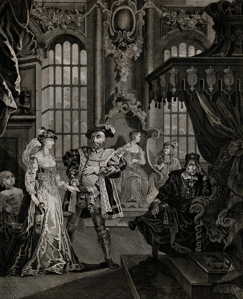 Anna cieszyła się szczęściem przy boku Henryka jako królowa jedynie trzy lata. ©Wikimedia Commons.