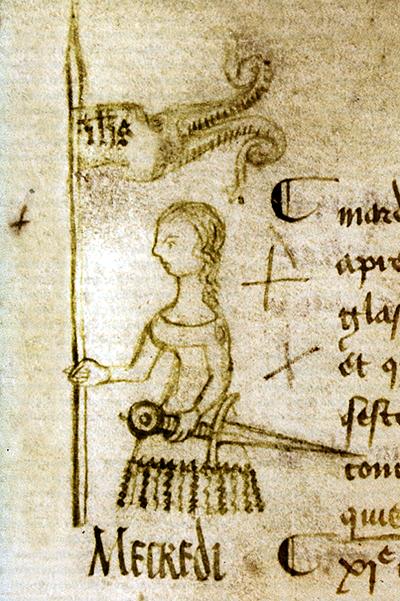 Rycina przedstawiająca Joanne d'Arc. ©Wikimedia Commons.