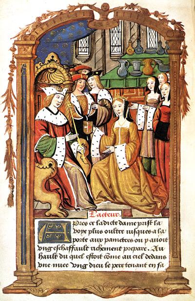 Maria Tudor zmałżonkiemLudwikiem XII, ok. 1514 roku. ©Wikimedia Commons.