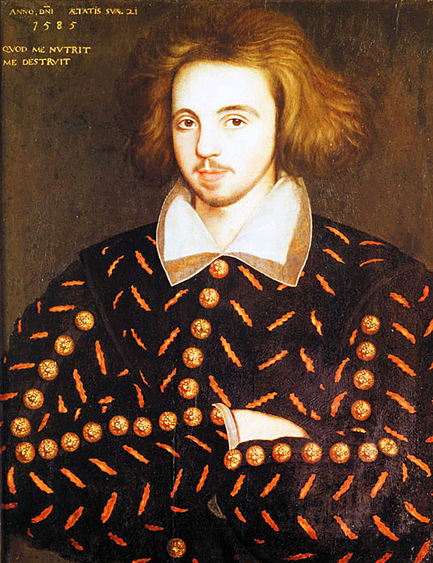 Christopher Marlowe. ©  Wikimedia Commons.