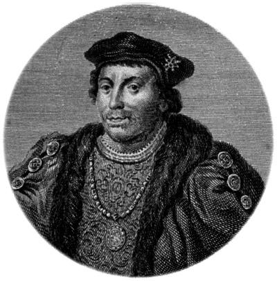 XVIII-wieczna rycina zwizerunkiem księcia Buckingham. ©Wikimedia Commons.
