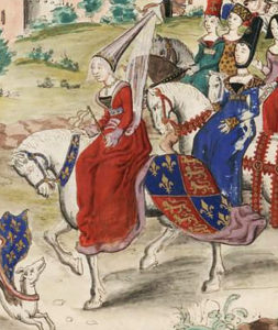 Królowa Izabela – Wilczyca zFrancji ©Wikimedia Commons.