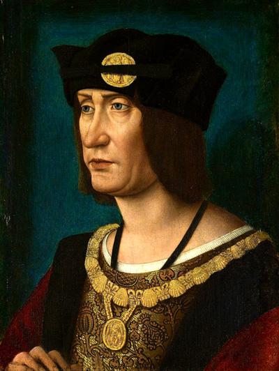Portret króla Ludwika XII. ©Wikimedia Commons.