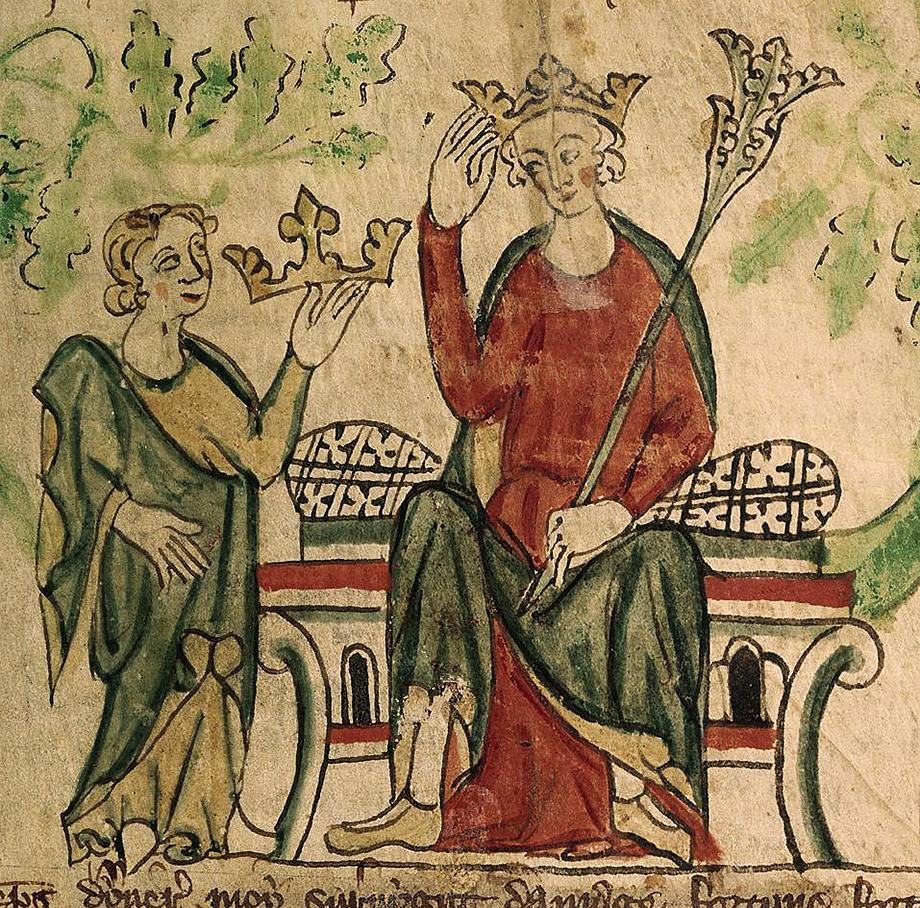 Miniatura zwizerunkiem Edwarda II. ©Wikimedia Commons.
