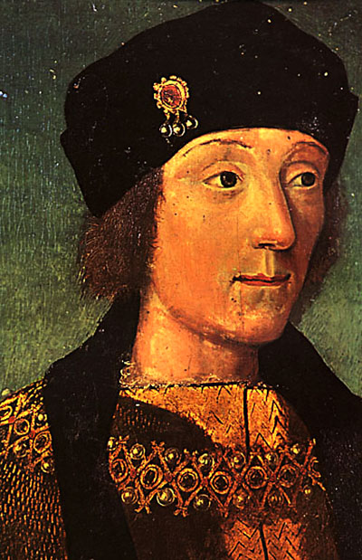 Henryk VII jako młodzieniec. ©Wikimedia Commons.