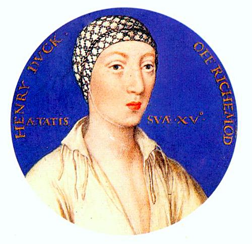 Henryk Fitzroy, książę Richmond iSomerset. ©Wikimedia Commons.