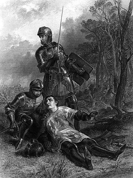 Małgorzata Pole był wnuczką hrabiego Warwick, osławionego Twórcy Królów. ©Wikimedia Commons.
