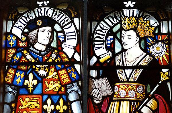 Król Ryszard III wraz zmałżonka, królową Anną. ©Wikimedia Commons, VeteranMP.