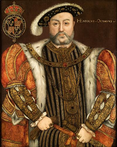 Jeden zportretów Henryka VIII. ©Wikimedia Commons.