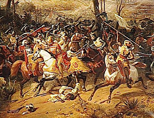 Bitwa podArsuf. ©Wikimedia Commons.