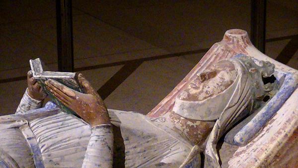 Nagrobek Eleonory Akwitańskiej. ©Wikimedia Commons, Adam Bishop.