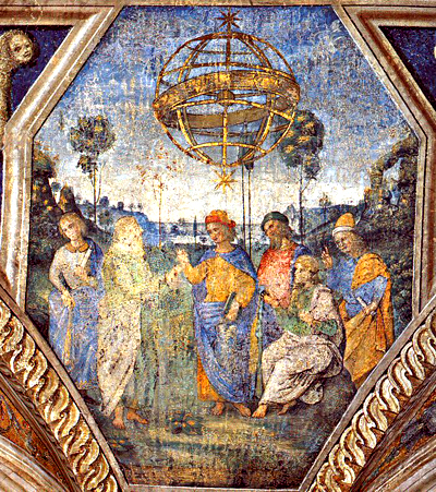 Alegoria astrologii. ©Wikimedia Commons, Pinturiccio.