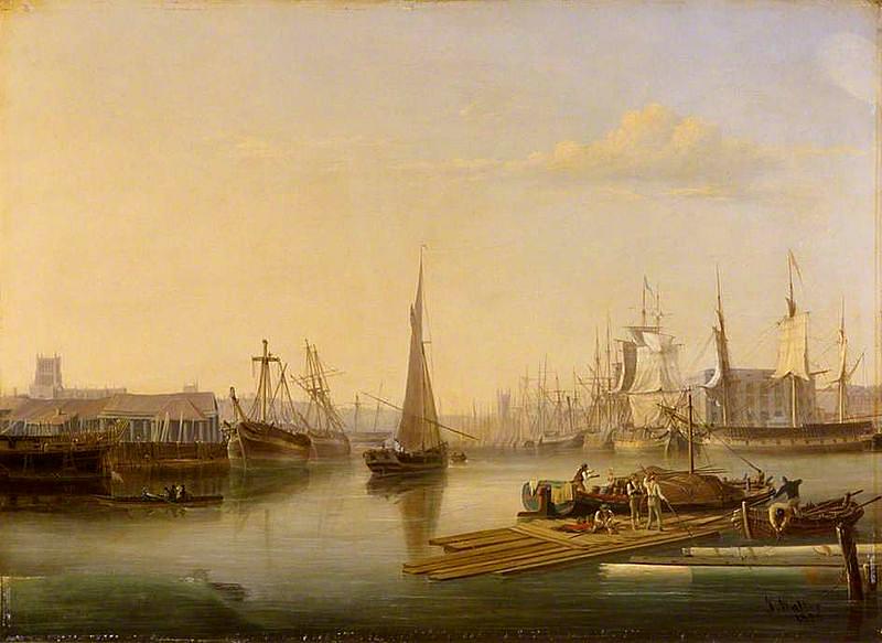 Dzielnica portowa wBristolu. ©Wikimedia Commons.