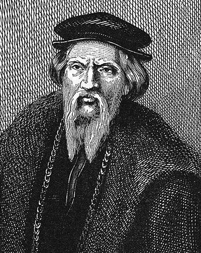 Sebastian Cabot narycinie z1882 r. ©Wikimedia Commons.