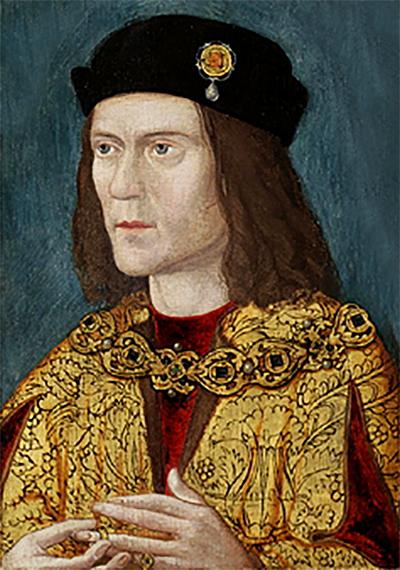 Portret Ryszarda III, wuja Elżbiety. ©Wikimedia Commons.