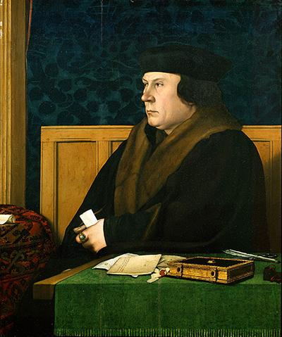Portret Tomasza Cromwella pędzla Hansa Holbeina. ©Wikimedia Commons.