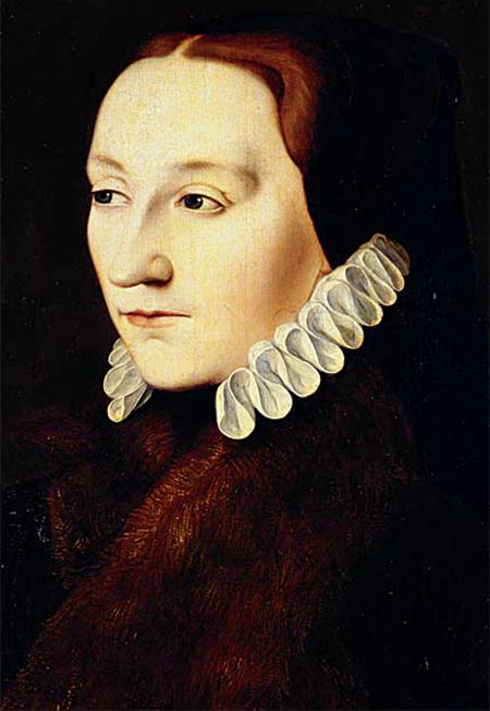 Portret Franciszki Grey. ©Wikimedia Commons