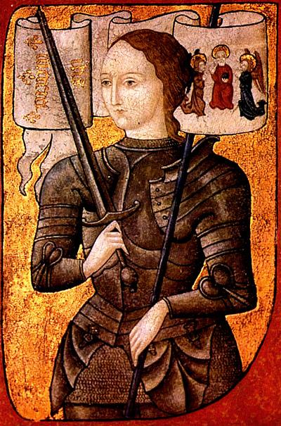 Jeden zpopularniejszych wizerunków Joanny d'Arc. ©Wikimedia Commons.