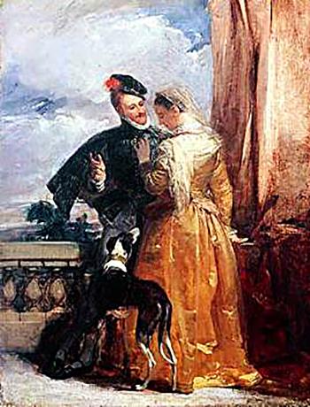 Robert Dudley ijego pierwsza żona, Amy Robsart. ©Wikimedia Commons.