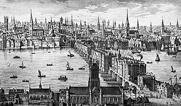Zatłoczony Londyn był wylęgarnią przestępczości. © Wikimedia Commons.