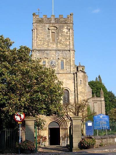 Kościół wChepstow. ©Wikimedia Commons, Ruth Sharville.