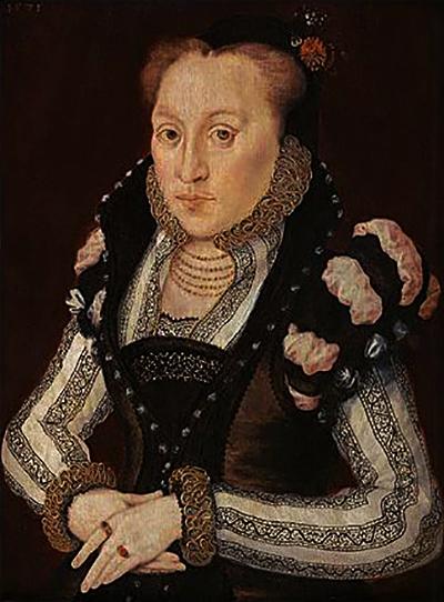Maria Grey, córka Franciszki zpierwszego małżeństwa, wyszła zamąż bezzgody królowej. ©Wikimedia Commons.