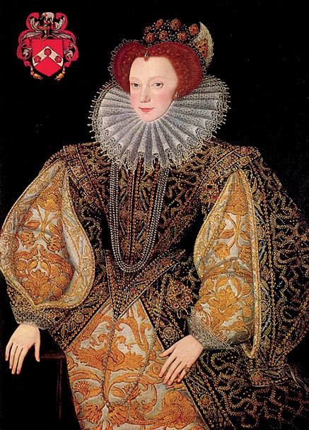 Portret Lettice Knollys, drugiej żony hrabiego Leicester. ©Wikimedia Commons.