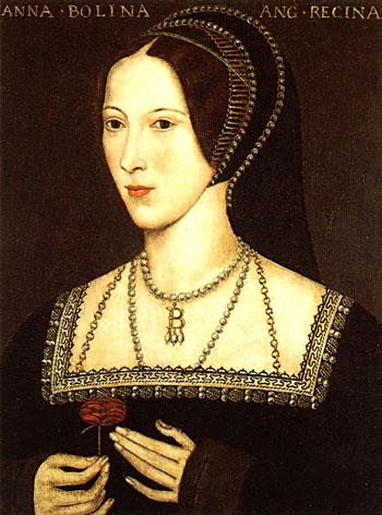 Anna Boleyn słynęła zeswego uporu iciętego języka. ©Wikimedia Commons.