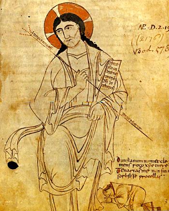 Wizerunek św.Dunstana, opata klasztoru wGlastonbury. ©Wikimedia Commons.