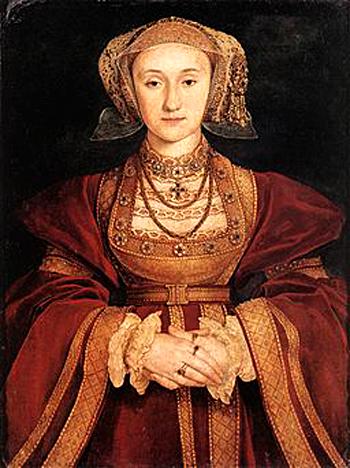 Annę Kliwijską król szybko odtrącił, twierdząc, żewątpi wjej dziewictwo. ©Wikimedia Commons.