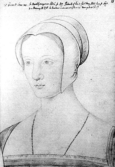 Wizerunek Marii Tudor powstały najprawdopodobniej wlatach 1514–1515, wokresie, gdybyła królową Francji jako małżonka Ludwika XII. ©Wikimedia Commons.