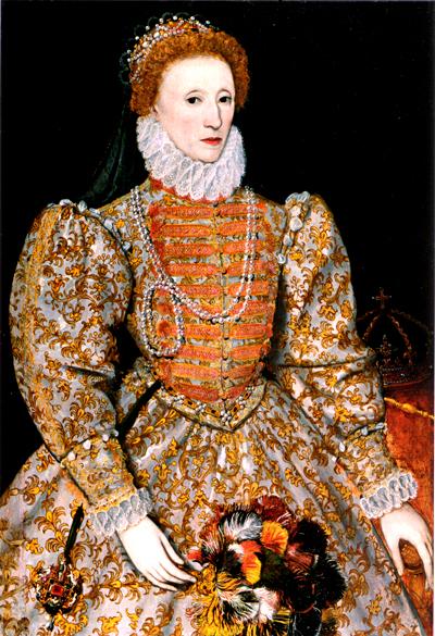 """Elżbieta wsukni w""""polskim stylu"""". ©Wikimedia Commons."""