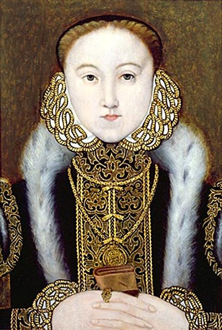 Portret Elżbiety wykonany najprawdopodobniej wlatach 1555–1560. ©Wikimedia Commons.