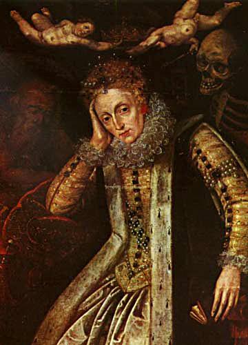 Kolejne pokolenia historyków ifascynatów zastanawia fakt, dlaczego Elżbieta, umierając, surowo zabroniła balsamowania jej szczątków. ©Wikimedia Commons.