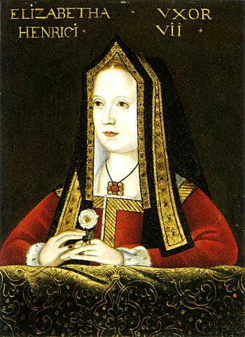 Henryk VII, wypełniając swą obietnicę, poślubił Elżbietę York, córkę Edward IV. ©&nbspWikimedia Commons.