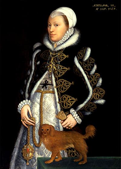 Portret Katarzyny, córki Marii Boleyn. ©Wikimedia Commons.