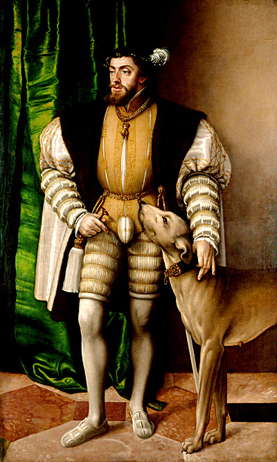 Portret Karola V pędzla Jakoba Seiseneggera (1505–1567). ©Wikimedia Commons.