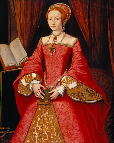Do dziś niema pewności, czynastoletnia księżniczka miała romans zmężem swojej macochy, Thomasem Seymourem. ©Wikimedia Commons.